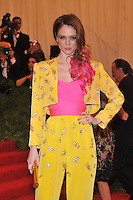 Coco Rocha at the 'Schiaparelli And Prada: Impossible Conversations' Costume Institute Gala at the Metropolitan Museum of Art on May 7, 2012 in New York City. © mpi03/MediaPunch Inc.