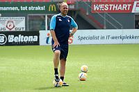 EMMEN - Voetbal , Eerste training FC Emmen, Oude Meerdijk, Eredivisie, seizoen 2018-2019, 27-06-0218,  Dick Lukkien