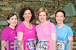 Eili?s loughrey, Gretel O'Sullivan, Mary Ryan and Stella Moloney Gneeveguilla at the Feet First 5km in Killarney on Saturday.