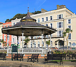 Commodore Hotel and bandstand, Cobh, County Cork, Ireland, Irish Republic