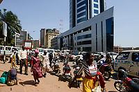 UGANDA, Kampala, Kampala Road in city center