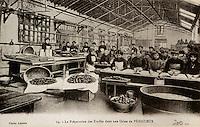 Europe/France/Midi-Pyrénées/46/Lot/Vallée du Lot/Cahors: Vieille carte postale sur le thème de la truffe - Collection Mr Pebeyre