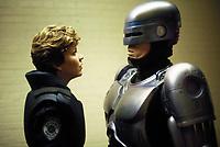 RoboCop (1987) <br /> Peter Weller &amp; Nancy Allen<br /> *Filmstill - Editorial Use Only*<br /> CAP/KFS<br /> Image supplied by Capital Pictures