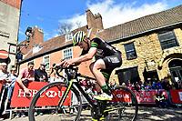 Picture by Allan McKenzie/SWpix.com - 14/05/2017 - Cycling - HSBC UK British Cycling Spring Cup Series  - Lincoln Grand Prix 2017 - Michaelgate climb