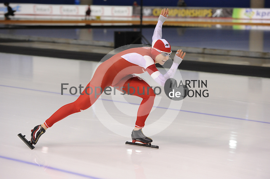 SPEEDSKATING: CALGARY: Olympic Oval, 25-02-2017, ISU World Sprint Championships, 500m Ladies, Natalia Czerwonka (POL), ©photo Martin de Jong
