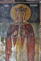 BG61215.JPG BULGARIA, BLACK SEA COAST, NESSEBAR, CHURCH OF ST STEPHAN, 10TH CENTURY, FRESCOS