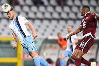 Sergej Milinkovic-Savic of SS Lazio and Bremer of Torino FC during the Serie A football match between Torino FC and SS Lazio at stadio Olimpico in Turin ( Italy ), June 30th, 2020. Play resumes behind closed doors following the outbreak of the coronavirus disease. <br /> Photo Image Sport / Insidefoto