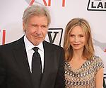CULVER CITY, CA. - June 10: Harrison Ford and Calista Flockhart arrive at the 38th Annual Lifetime Achievement Award Honoring Mike Nichols held at Sony Pictures Studios on June 10, 2010 in Culver City, California.