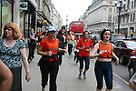 The Nike shop in Oxford Circus, London, organises a run from Central London to regent's Park. 150 Londoners join the run twice a week just after work.