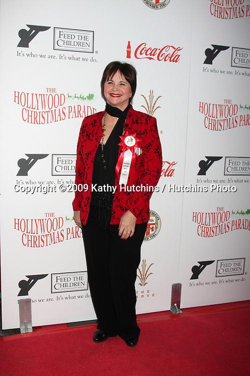 Cindy Williams.arriving at the 2009 Hollywood Christmas Parade .Hollywood Roosevelt Hotel.Los Angeles,  CA.November 29, 2009.©2009 Kathy Hutchins / Hutchins Photo.
