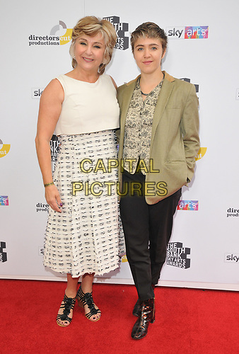 Lesley Garrett and guest at the South Bank Sky Arts Awards 2019, The Savoy Hotel, The Strand, London, England, UK, on Sunday 07th July 2019.<br /> CAP/CAN<br /> ©CAN/Capital Pictures