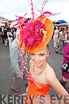 STYLE: Dressed to impress at the Galway Races on Thursday last was Norma O'Donoghue, Killarney who was one of the finalists in the Best Dressed Lady competition.   Copyright Kerry's Eye 2008