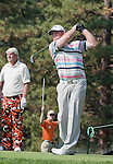 August 3, 2012: J.B. Holmes, from Campbellsville, KY, tees off on the 17th hole during the second round of the 2012 Reno-Tahoe Open Golf Tournament at Montreux Golf & Country Club in Reno, Nevada.