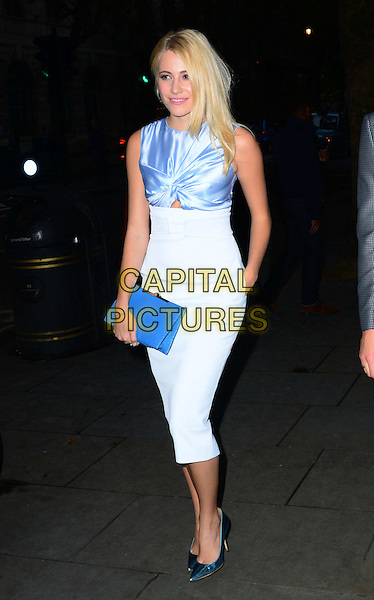 Pixie Lott attends the Scottish Fashion Awards 2014, 8 Northumberland Avenue, Northumberland Avenue, on Monday September 01, 2014 in London, England, UK. <br /> CAP/JOR<br /> &copy;Nils Jorgensen/Capital Pictures