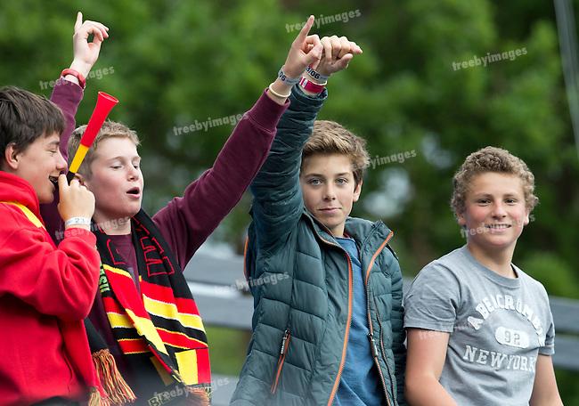 23/06/2015<br /> HWL Semi Final Antwerp Belgium 2015<br /> New Zealand v India Women<br /> <br /> Photo: Grant Treeby