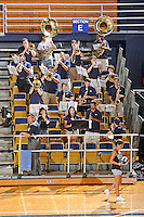 11 September 2011:  FIU's band performs during a break in the action as the FIU Golden Panthers defeated the Florida A&M University Rattlers, 3-0 (25-10, 25-23, 26-24), at U.S Century Bank Arena in Miami, Florida.