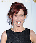 LOS ANGELES, CA - AUGUST 19: Actress Carrie Preston arrives at the Premiere Of Lionsgate Premiere's 'She's Funny That Way' at Harmony Gold on August 19, 2015 in Los Angeles, California.