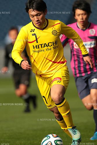 Natsuki Mugikura (Reysol), <br /> December 14, 2014 - Football /Soccer : <br /> Prince Takamado Trophy U-18 Football League 2014 Championship <br /> between Kashiwa Reysol U-18 0-1 Cerezo Osaka U-18 <br /> at Saitama Stadium 2002, Saitama, Japan. <br /> (Photo by AFLO SPORT) [1205]