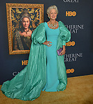 "Helen Mirren 033 attends the Los Angeles Premiere Of The New HBO Limited Series ""Catherine The Great"" at The Billy Wilder Theater at the Hammer Museum on October 17, 2019 in Los Angeles, California."