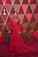 www.acepixs.com<br /> <br /> February 26 2017, Hollywood CA<br /> <br /> Ruth Negga arriving at the 89th Annual Academy Awards at Hollywood &amp; Highland Center on February 26, 2017 in Hollywood, California.<br /> <br /> By Line: Z17/ACE Pictures<br /> <br /> <br /> ACE Pictures Inc<br /> Tel: 6467670430<br /> Email: info@acepixs.com<br /> www.acepixs.com