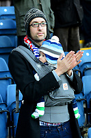 A Blackburn Rovers fan looks on<br /> <br /> Photographer Richard Martin-Roberts/CameraSport<br /> <br /> The EFL Sky Bet Championship - Blackburn Rovers v West Bromwich Albion - Tuesday 1st January 2019 - Ewood Park - Blackburn<br /> <br /> World Copyright &not;&copy; 2019 CameraSport. All rights reserved. 43 Linden Ave. Countesthorpe. Leicester. England. LE8 5PG - Tel: +44 (0) 116 277 4147 - admin@camerasport.com - www.camerasport.com