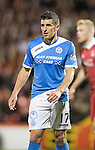Aberdeen v St Johnstone&hellip;22.09.16.. Pittodrie..  Betfred Cup<br />Michael Coulson<br />Picture by Graeme Hart.<br />Copyright Perthshire Picture Agency<br />Tel: 01738 623350  Mobile: 07990 594431