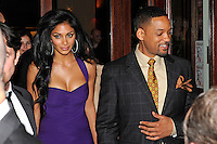 Will Smith and Nicole Scherzinger. MEN IN BLACK 3 cast going for dinner at Borchardt restaurant, Berlin, 14.05.2012..Credit: SEKA/face to face /MediaPunch Inc. ***FOR USA ONLY***