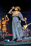 macy gray performs on stage at the  Cornbury Festival the  Great Tew Park Oxfordshire  United Kingdom on June 30, 2012Picture By: Brian Jordan / Retna Pictures.. ..-..