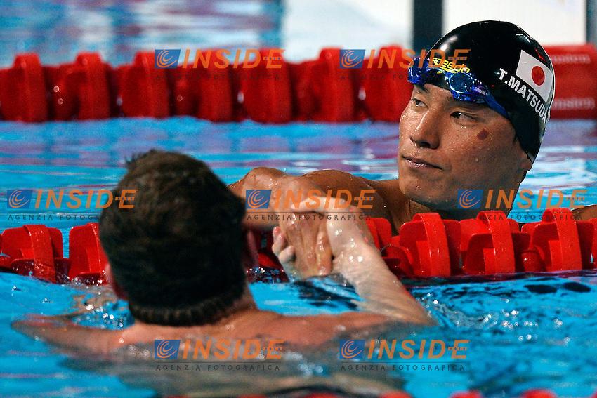 Takeshi Matsuda Japan Men's 200m Butterfly <br /> Swimming - Nuoto <br /> Barcellona 30/7/2013 Palau St Jordi <br /> Barcelona 2013 15 Fina World Championships Aquatics <br /> Foto Andrea Staccioli Insidefoto