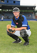 July 14th, 2007:  Brian Bent of the Aberdeen Ironbirds, Class-A Short-Season affiliate of the Baltimore Orioles, poses for a photo before a game vs the Jamestown Jammers in New York-Penn League action.  Photo Copyright Mike Janes Photography 2007.