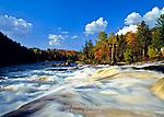 Raquette River, Jamestown Falls, Adirondack Mts., New York