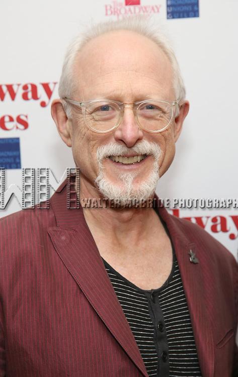 Robert Schenkkan attends Broadway Salutes 10 Years - 2009-2018 at Sardi's on November 13, 2018 in New York City.