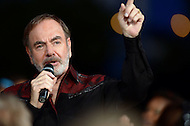 """July 3, 2013  (Washington, DC)  Entertainer Neil Diamond performs at the 2013 """"A Capitol Fourth"""" concert rehearsal at the U.S. Capitol on July 3, 2013.  (Photo by Don Baxter/Media Images International)"""