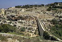 Bingemma Gap, Malta. Victoria Lines, a 19th Century Defensive Line against foreign invasion.