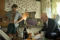 All Nighter (2017) <br /> Emile Hirsch &amp; J.K. Simmons  <br /> *Filmstill - Editorial Use Only*<br /> CAP/KFS<br /> Image supplied by Capital Pictures