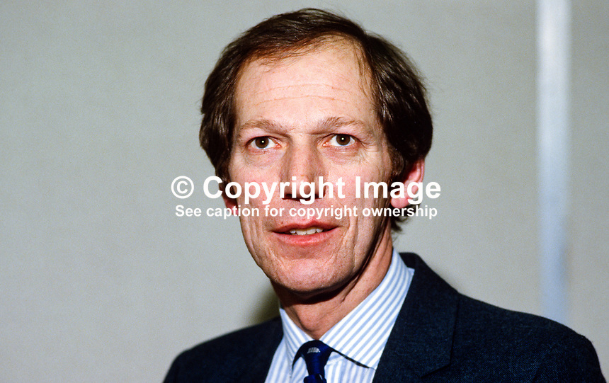 Forde May, N Ireland director, PA Management Consultants, 19850031FM..Copyright Image from Victor Patterson, 54 Dorchester Park, Belfast, UK, BT9 6RJ..Tel: +44 28 9066 1296.Mob: +44 7802 353836.Voicemail +44 20 8816 7153.Skype: victorpattersonbelfast.Email: victorpatterson@mac.com.Email: victorpatterson@ireland.com (back-up)..IMPORTANT: If you wish to use this image or any other of my images please go to www.victorpatterson.com and click on the Terms & Conditions. Then contact me by email or phone with the reference number(s) of the image(s) concerned.