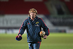 Munster backs coach Simon Mannix.<br /> Celtic League<br /> Scarlets v Munster<br /> <br /> 01.03.14<br /> <br /> &copy;Steve Pope-SPORTINGWALES