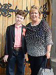 Tom Lawrence who was confirmed at the Church of Mary Immaculate Collon pictured with mam Rita. Photo:Colin Bell/pressphotos.ie