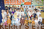 Castleisland Boys National School pupils who held their nativity play in the school on Friday
