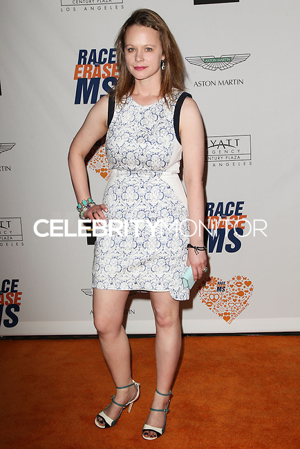 CENTURY CITY, CA, USA - MAY 02: Thora Birch at the 21st Annual Race To Erase MS Gala held at the Hyatt Regency Century Plaza on May 2, 2014 in Century City, California, United States. (Photo by Celebrity Monitor)