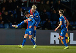 11.02.2019: Ross County v Inverness CT: Aaron Doran takes the acclaim for his goal