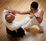Pak Janur, a master of aikido, joyfully shares techniques for maintaining one's center -- physical and mental --  in the face of conflict and challenge.