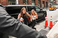 NEW YORK, EUA, 27.06.2017 - OLIVIA-DEJONGE - A atriz australiana Olivia DeJonge é vista no bairro de Nolita na Ilha de Manhattan em New York nos Estados Unidos nesta terça-feira, 27. (Foto: Vanessa Carvalho/Brazil Photo Press)
