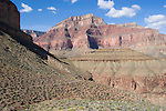 Arizona, Grand Canyon, Grand Canyon National Park, Yuma Point from Tonto Platform, TontoTrail, Hermit to Bright Angel Trail Loop, Southwest, U.S.A.,
