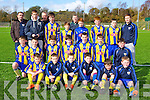 The Killorglin team that played Clonmel Town in the quarter final of the u13 National Cup in Killorglin on Saturday