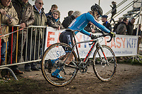 Githa Michiels (BEL)<br /> <br /> Elite Women's Race<br /> Soudal Jaarmarktcross Niel 2016