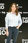 "Nora Navas attend the Presentation of ""Happy 140"" (Felices 140) Movie at Eurobuilding Hotel, Madrid,  Spain. April 07, 2015.(ALTERPHOTOS/)Carlos Dafonte)"