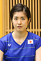 Ayane Kurihara (JPN), JULY 19, 2016 - Badminton : Training for Rio Olympic Games in Tokyo, Japan. (Photo by Sho Tamura/AFLO SPORT)