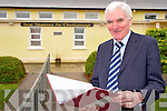 Bertie O'Connor, principal Cullina National School, Beaufort, who will retire from teacher on February 10th after teaching at the school for 33 years.