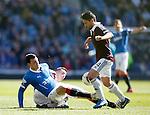 Haris Vuckic tackles Miguel Pallardo Gonzalez